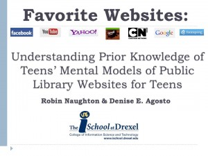 2012 ASIST Favorite Websites